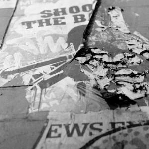Shoot the B London Graffiti
