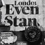 London Evening Standard Grafitti